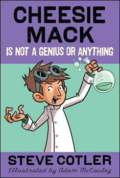Cheesie Mack is Running like Crazy, Coming June 2013!