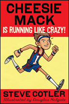 Cheesie Mack is running like crazy