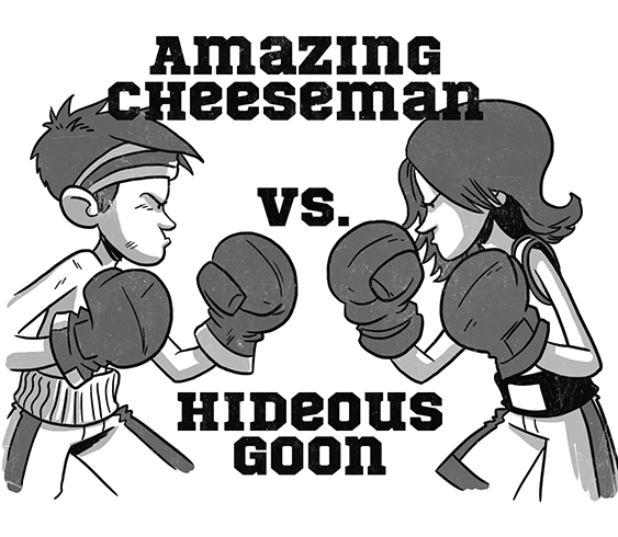 Cheesie VS. Goon